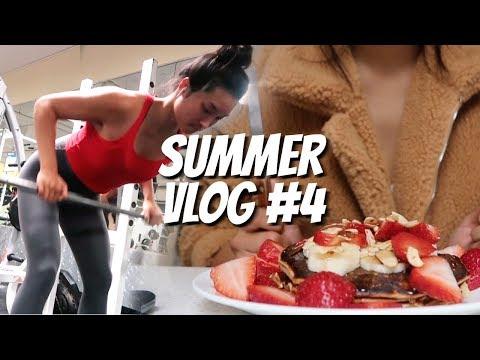 SUMMER VLOG #4 |  School, Gym, & My Fave Songs!