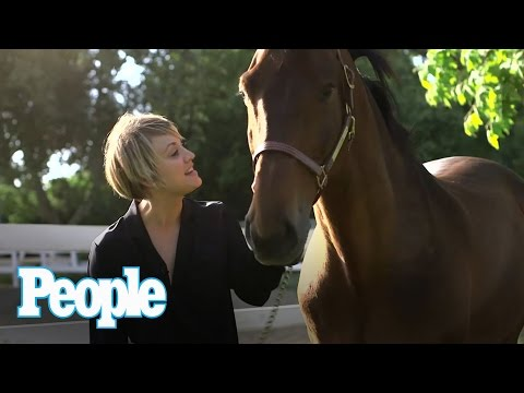 Big Bang Theory's Kaley CuocoSweeting Gets ed By a Horse  People