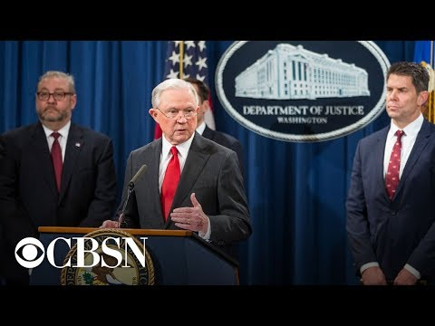 Watch Live: Jeff Sessions resigns as Attorney General today after Trump's request
