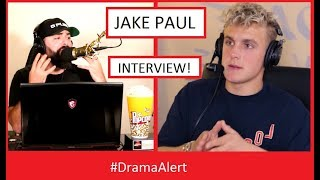 One of DramaAlert's most viewed videos: Jake Paul Interview! #DramaAlert - ( The Cough is Real! )