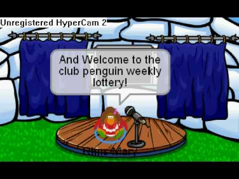 Club Penguin Weekly Lottery Show Results Wineers Announced! (Closed)