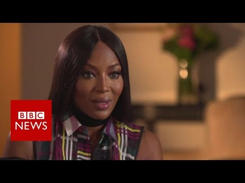 Naomi Campbell: Abuse in fashion 'a big problem' - BBC News