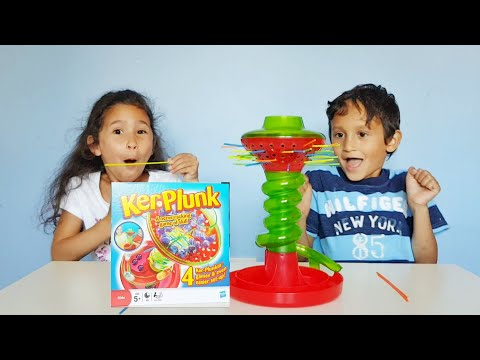 Marble Avalanche - KerPlunk Board Games Review