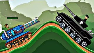 Hills Of Steel Update - MAMMOTH Tank vs Thunderclap Boss Level | Game For Kids FHD