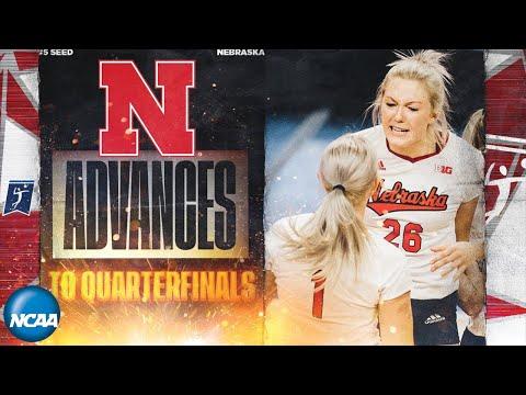 Nebraska v. Hawaii: Third round of the 2019 NCAA women's volleyball tournament