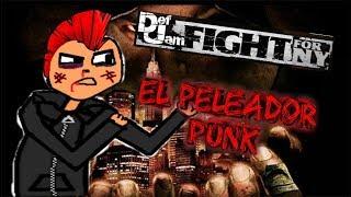 EL PELEADOR PUNK [DEF JAM FIGHT FOR NY] PS2