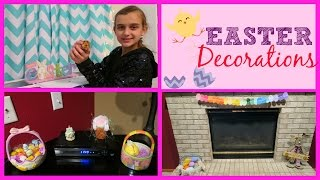 Decorating Our House For Easter