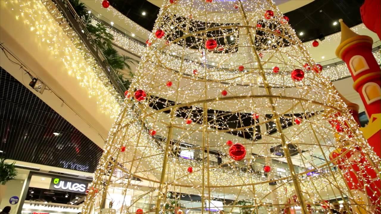 Décoration de Noël des Centres Commerciaux , MK Illumination , Fabricant dilluminations festives