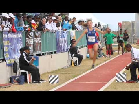 #2 Triple Jump Girls Carifta Bermuda Apr 7 2012