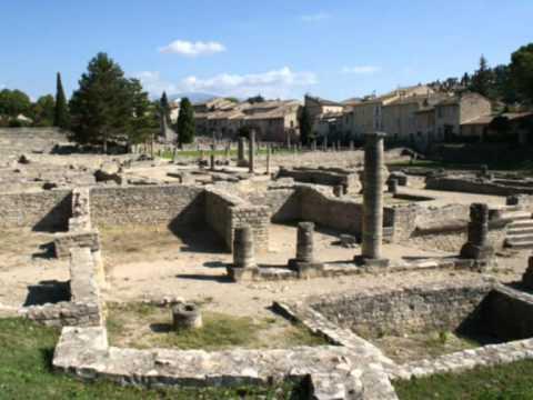 Bienvenue sur les sites antiques de vaison la romaine youtube - La villa romaine antique ...