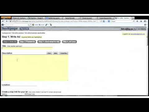 Driving Free Traffic & Leads with BackPage   Free Home Income System