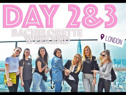 DAY2&3 My HEN Weekend | LONDON | Buckingham Palace | London Eye | Big Ben | VLOG 2