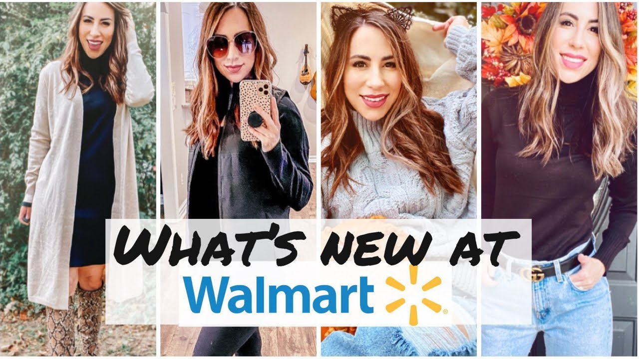 WALMART CLOTHING HAUL | Fall/Winter 2020/2021 | try on haul | #affordablefashion
