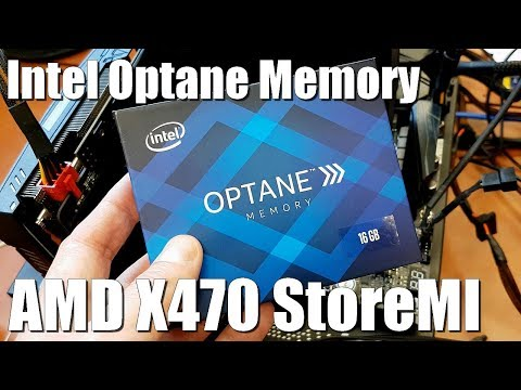 Intel Optane Memory supports secondary data storage