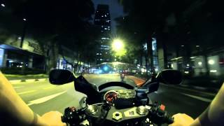 GoPro Hero 3 Night ride (GSXR 1k L2 and RVF 400)