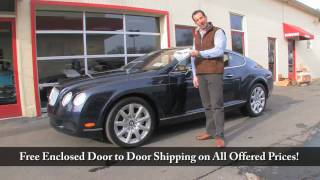 2005 Bentley GT FOR SALE Tony Flemings Ultimate Garage reviews horsepower ripoff complaints video