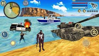 Venom Spider Rope Hero Vice Town # 4-Android 게임 플레이