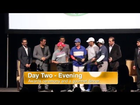 Winning Ways Charity Golf Event with MS Dhoni - Highlights