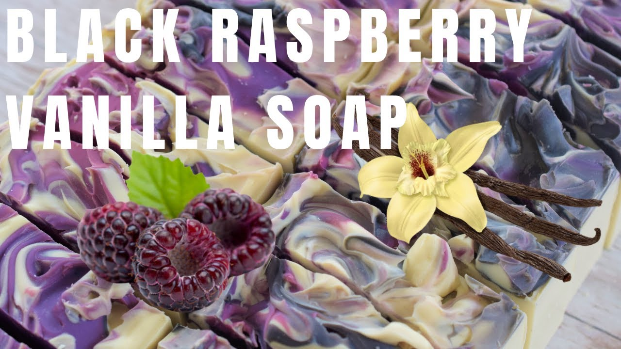 Black Raspberry Vanilla soap | FuturePrimitive Soap Co.