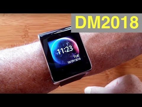 XANES DM2018 Android 6 4G data 900 mAh GPS Blood Pressure Fitness Smartwatch: Unboxing & Review