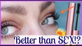 YouTube Made Me Buy It!: Too Faced Better Than Sex Mascara