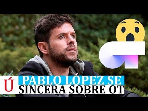 Pablo López se sincera sobre Operación Triunfo, Cepeda, Eurovisión y los concursantes de OT 2017
