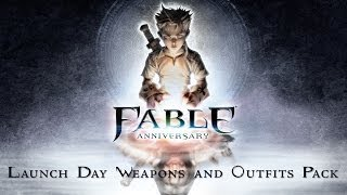 Fable Anniversary - Launch Day Weapons and Outfits Pack