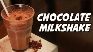 Chocolate Milkshake Recipe -- Quick Recipe