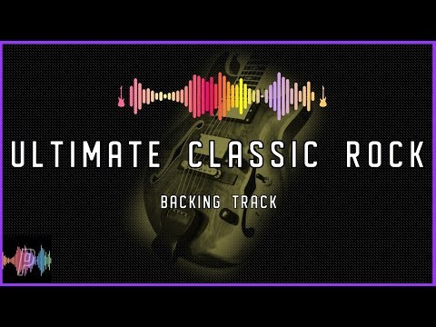 Ultimate Classic Rock Guitar Backing Track Jam in D Mixolydian Blues