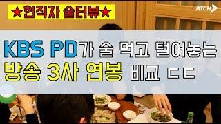 KBS, MBC, SBS 방송 3사 연봉 1위는 어디?…