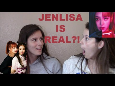 NON KPOP FANS REACT TO JENLISA CRACK 블랙핑크