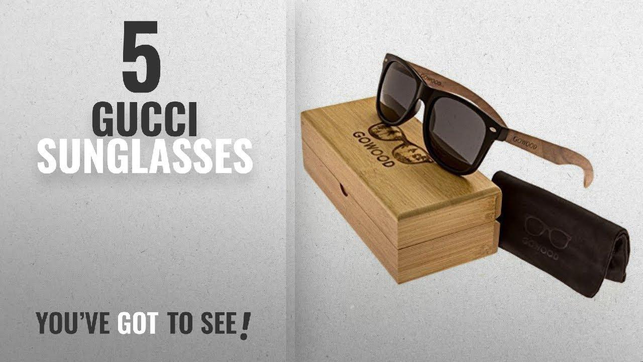 915853c39d Top 10 Gucci Sunglasses [2018]: Walnut Wooden Mens and Womens ...