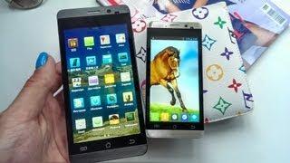 видео обзор/ review четырехядерного смартфона Jiayu G3s МТ6589 на русском