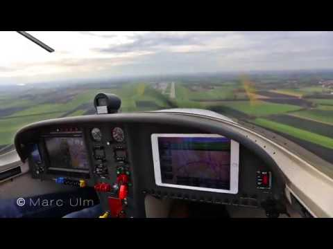 Sarajevo EXTREME HIGH Approach in WT9 Dynamic to Augsburg airport