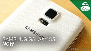 the samsung galaxy s5 now