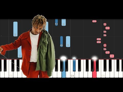 Juice WRLD - Lucid Dreams (Forget Me)  (Piano Tutorial)