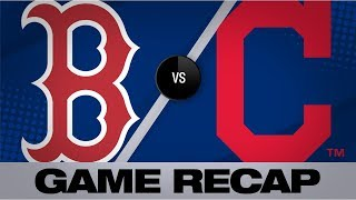 Santana's home run walks it off in 6-5 win | Red Sox-Indians Game Highlights 8/12/19
