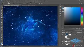 Создаём в Фотошоп коллаж «Волшебный сон» - 2