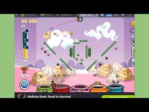 Papa Pear Saga Level 706 - no boosters