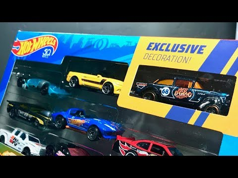 Lamley Unboxing: Hot Wheels 50 Years '55 Bel Air Gasser Amazon 10-pack Exclusive