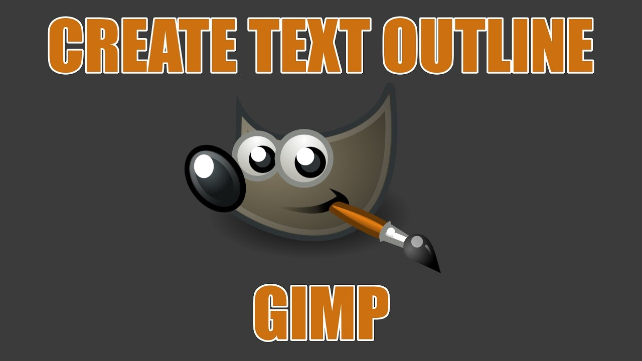 how to make image as text gimp on mac 2017