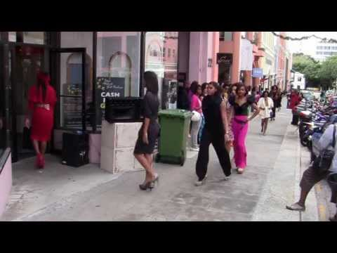 #2 Glam Rock- Flash Mob Fashion Show Bermuda November 26 2011