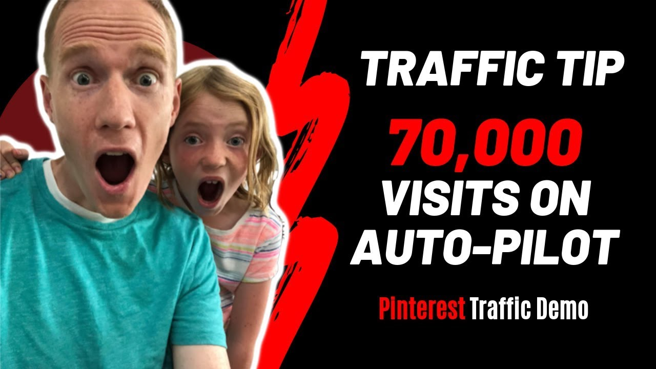 70,000 Visits on Auto-Pilot | Pinterest Traffic Demo with Tailwind