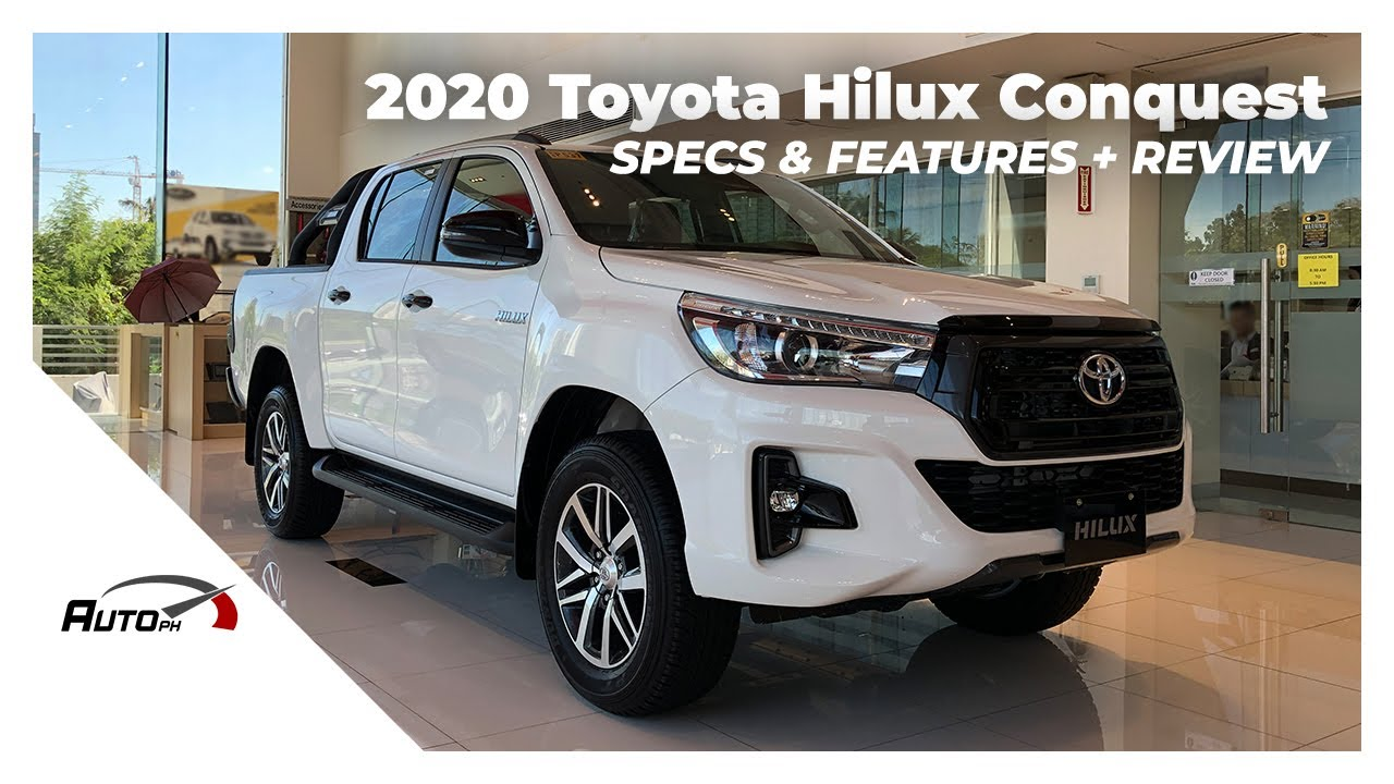 2020 Toyota Hilux Conquest 2 4 G 4x2 Exterior Interior Review Philippines Youtube