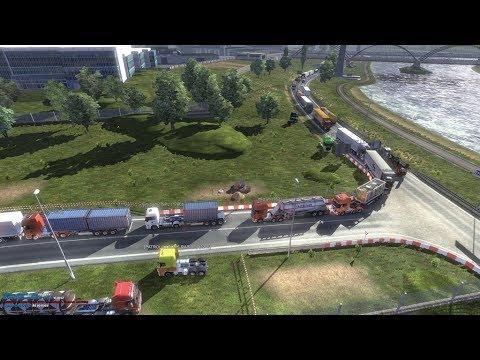 Biggest traffic jam in Calais | Euro Truck Simulator 2 MP | Ets2MP - YouTube
