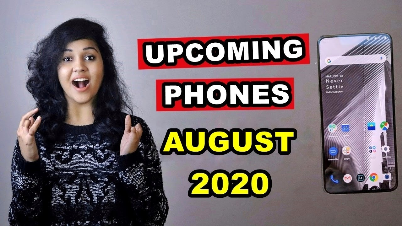 TOP 5 UPCOMING PHONES under 20,000 in AUGUST 2020 - YouTube