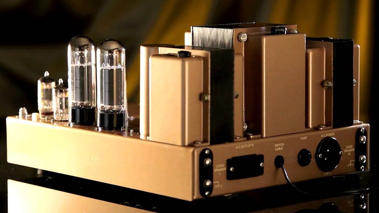 Rooms: Leak Stereo 50 Amplifier.mov