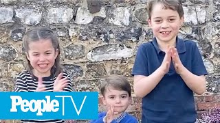 prince-george-princess-charlotte-prince-louis-applaud-healthcare-workers-video-peopletv