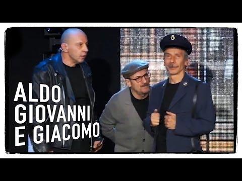 Il controllore - Aldo Giovanni e Giacomo live @ RadioItalia 2013