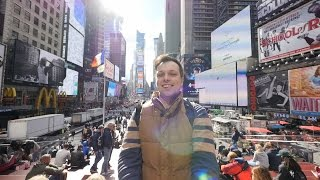 """Times Square. New York, NY. """"Real Russia in the US"""" ep.2"""